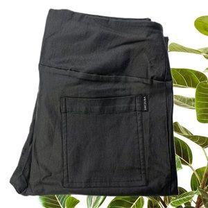 Decjuba Pants Size 12 Black Coated Legging pants